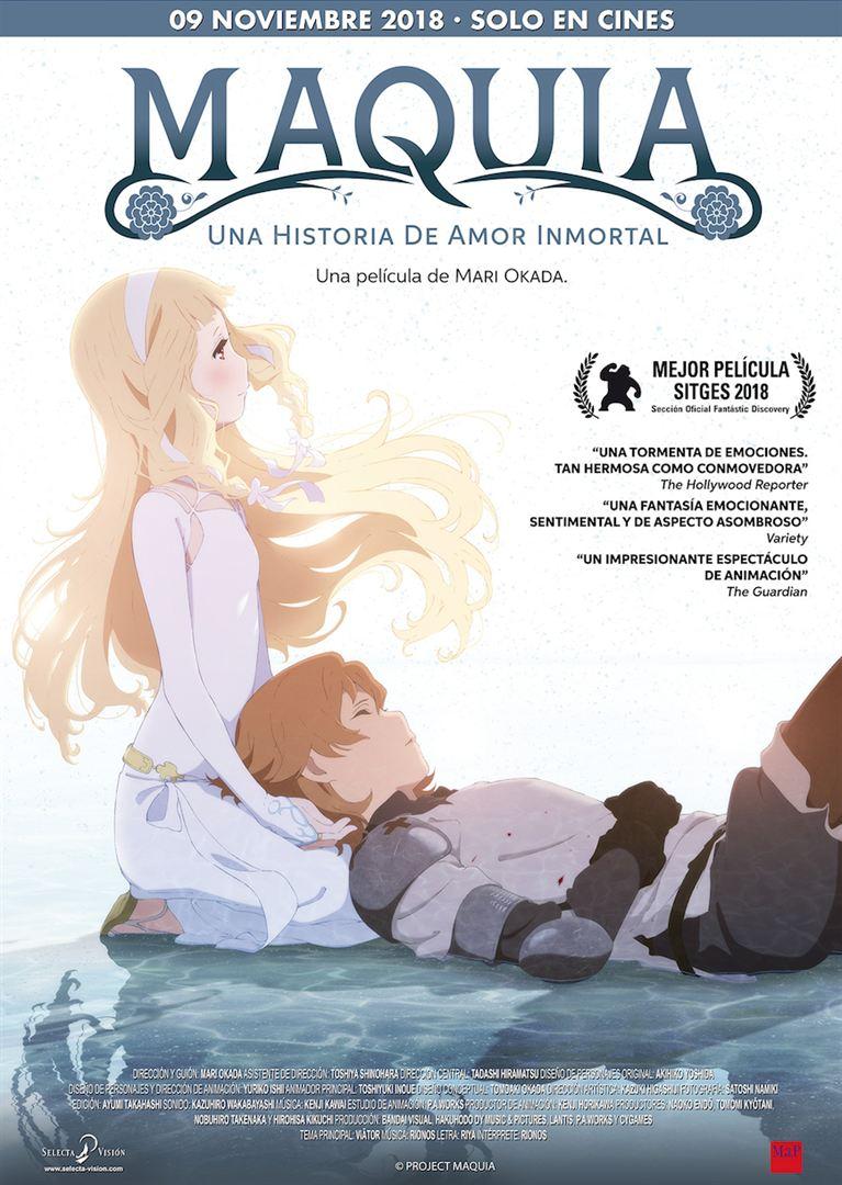 Maquia, una historia de amor inmortal