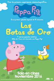 Peppa Pig: Las botas de oro