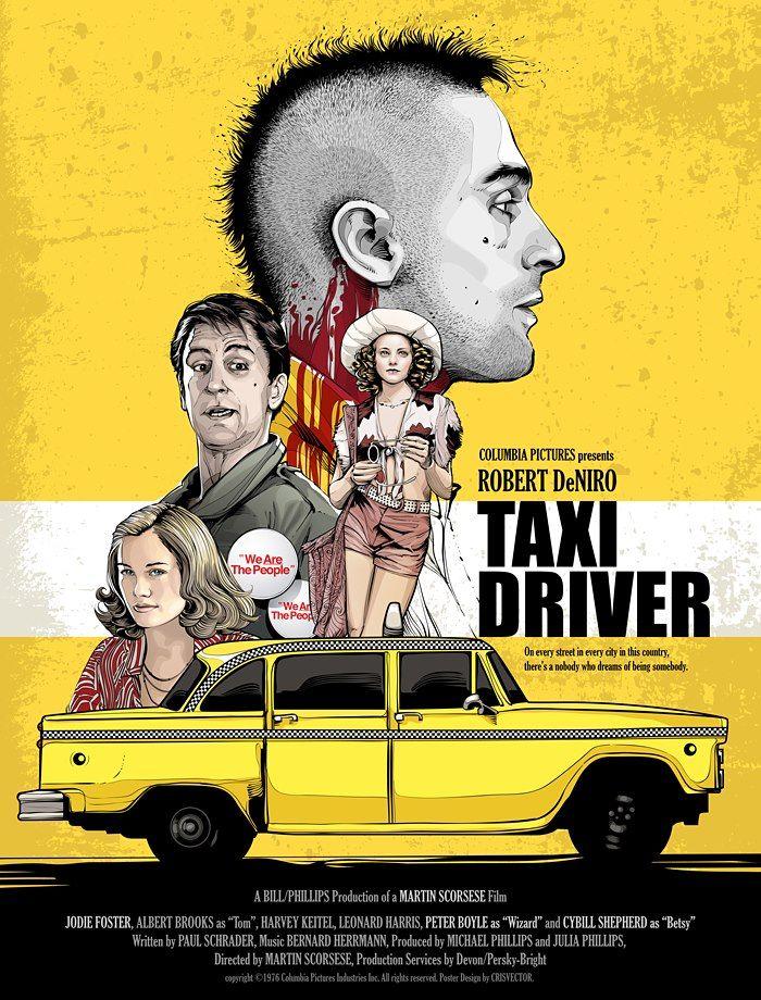 Afiche de Taxi Driver