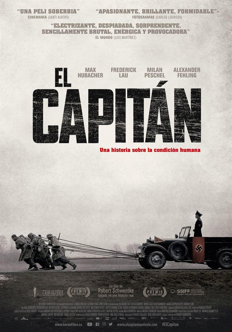 El capitán afiche de la película