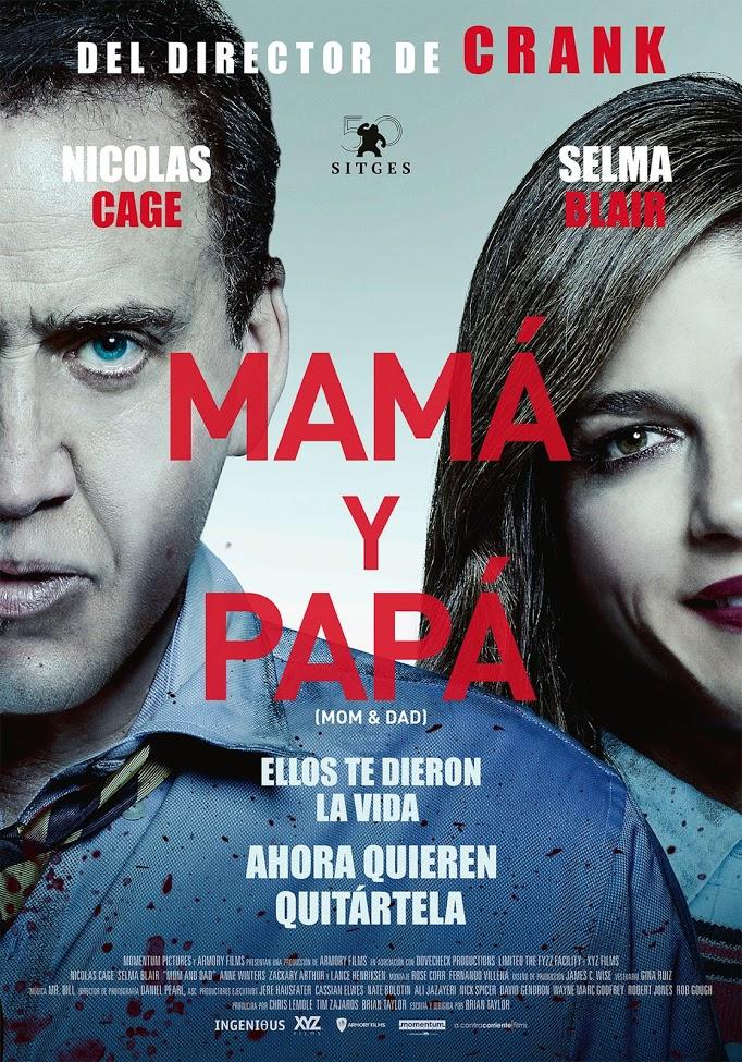 Afiche Mamá y Papá