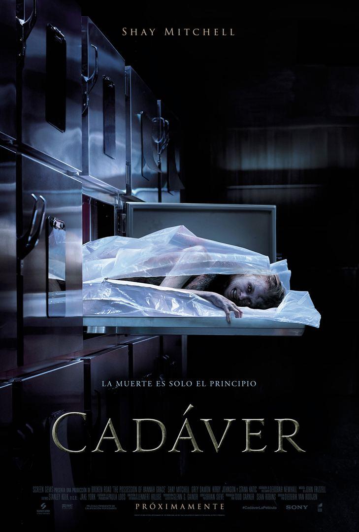 Afiche Cadáver