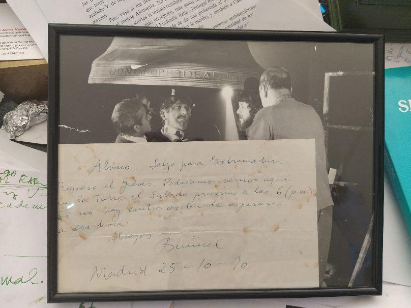 2-Quedada manuscrita de Buñuel con Lion-Depetre